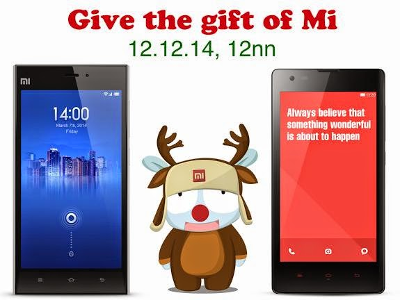 Xiaomi Mi 3 and Redmi 1S On Sale Tomorrow, Plus A Chance To Win Mi 4 and Redmi Note 4G