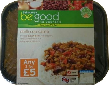 Diets and Calories: Chilli Con Carne, Be Good to Yourself