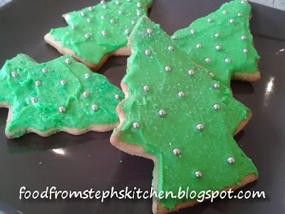Christmas shape cookies - Steph's Kitchen