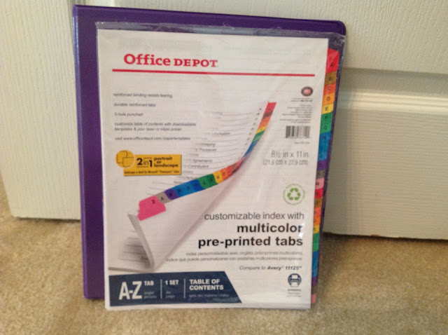 office depot binders