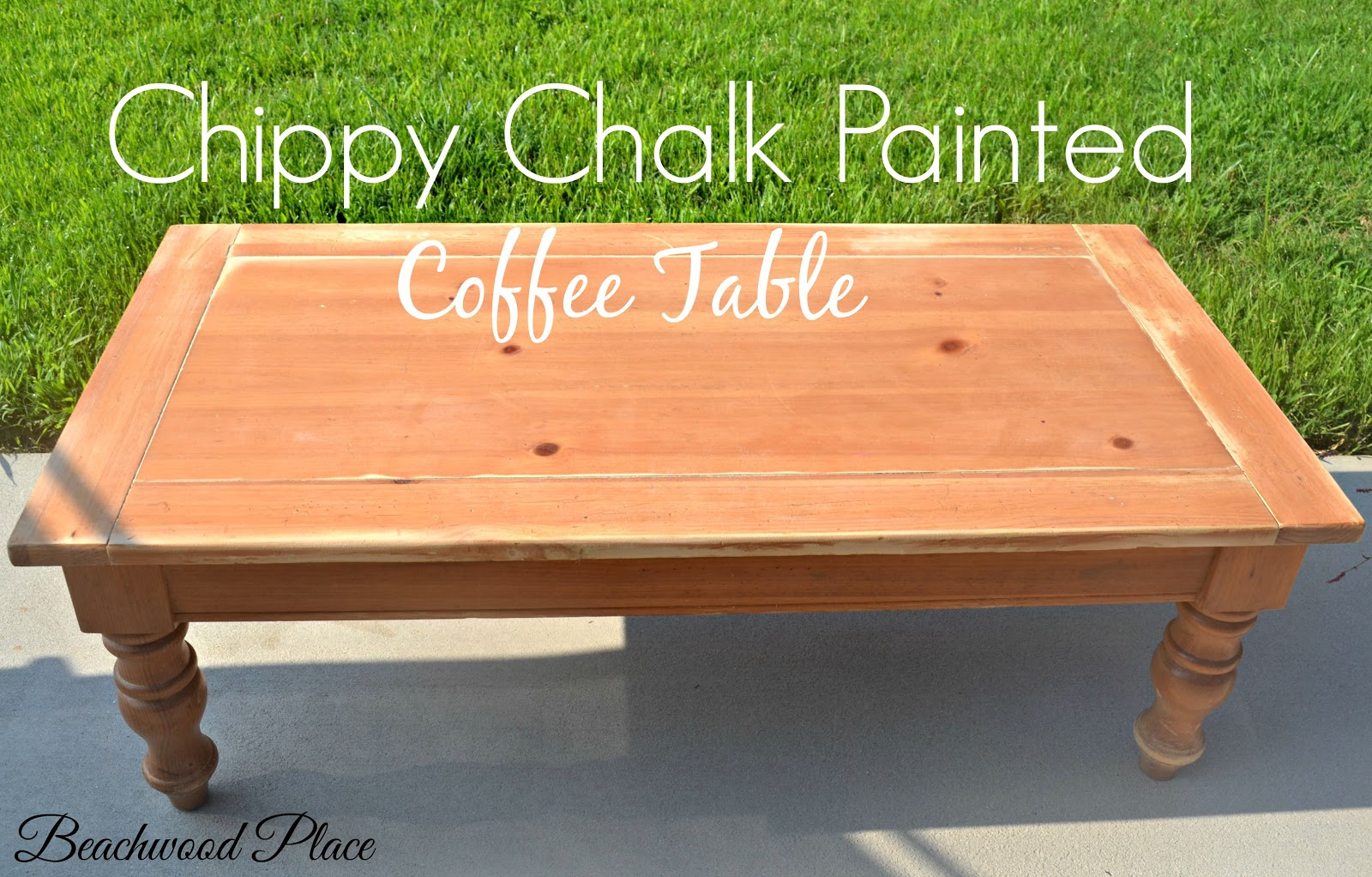 beachwood place: chippy chalk painted tables