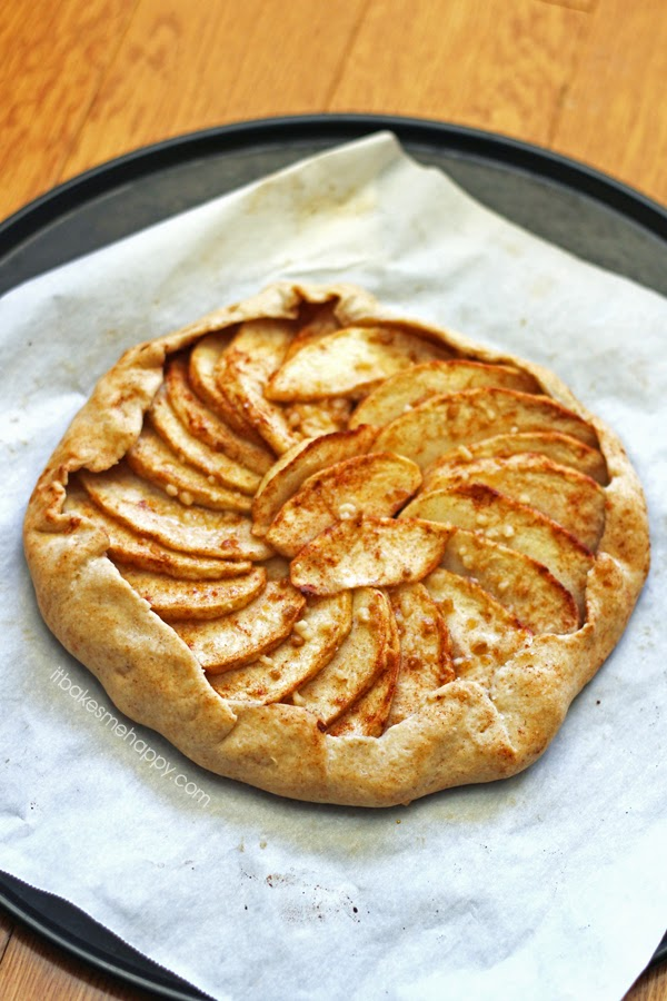 spiked apple galette chocolate an d caramel apple pie galette ginger ...