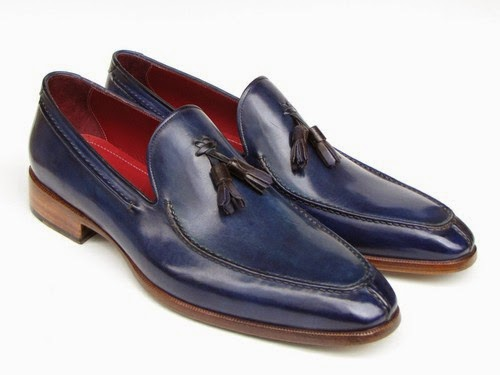 http://paulparkman.tictail.com/product/paul-parkman-mens-tassel-loafer-blue-hand-painted-leather