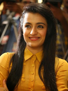 Trisha Photos at Cheekati Rajyam First Look Launch Event