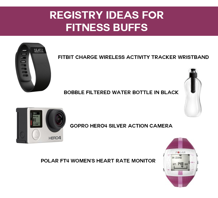 Wedding Registry Inspiration: Entertainment Lovers, Adventurers, Fitness Buffs, and Party People Register at Best Buy!