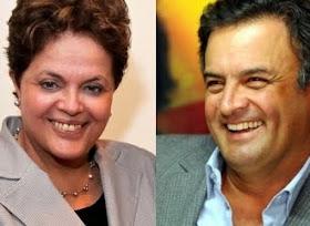 Nova pesquisa já aponta empate técnico com Dilma na frente