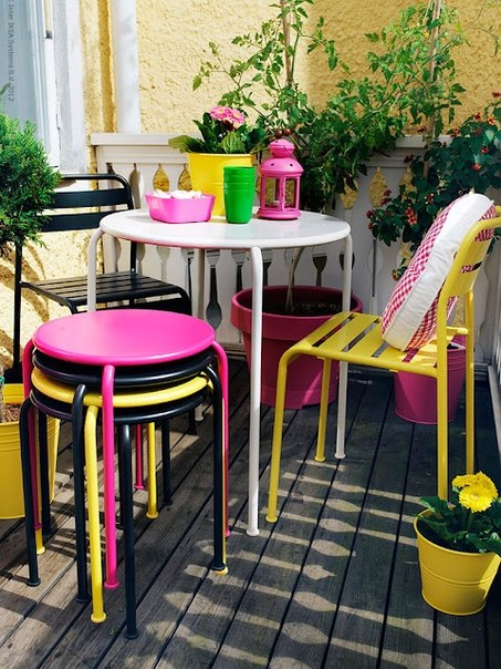 Balcony decorating home decorating ideas - Table balcon suspendue ikea ...