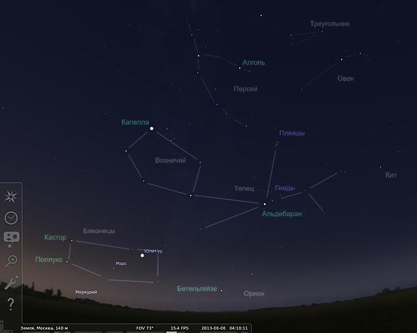 Звездное небо августа | Андрей Климковский