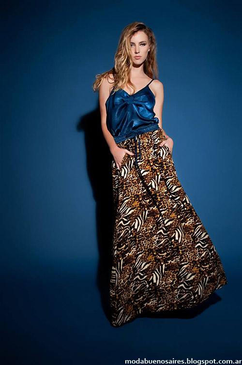 Noda otoño invierno 2014 vestidos, minis y maxi faldas de moda 2014 Justa Petra.
