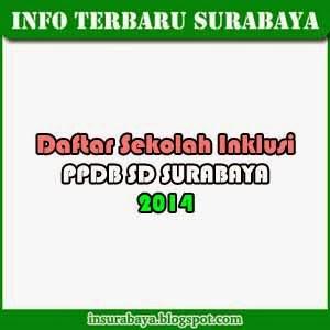 PPDB SD Surabaya 2014 - Daftar Sekolah Inklusi