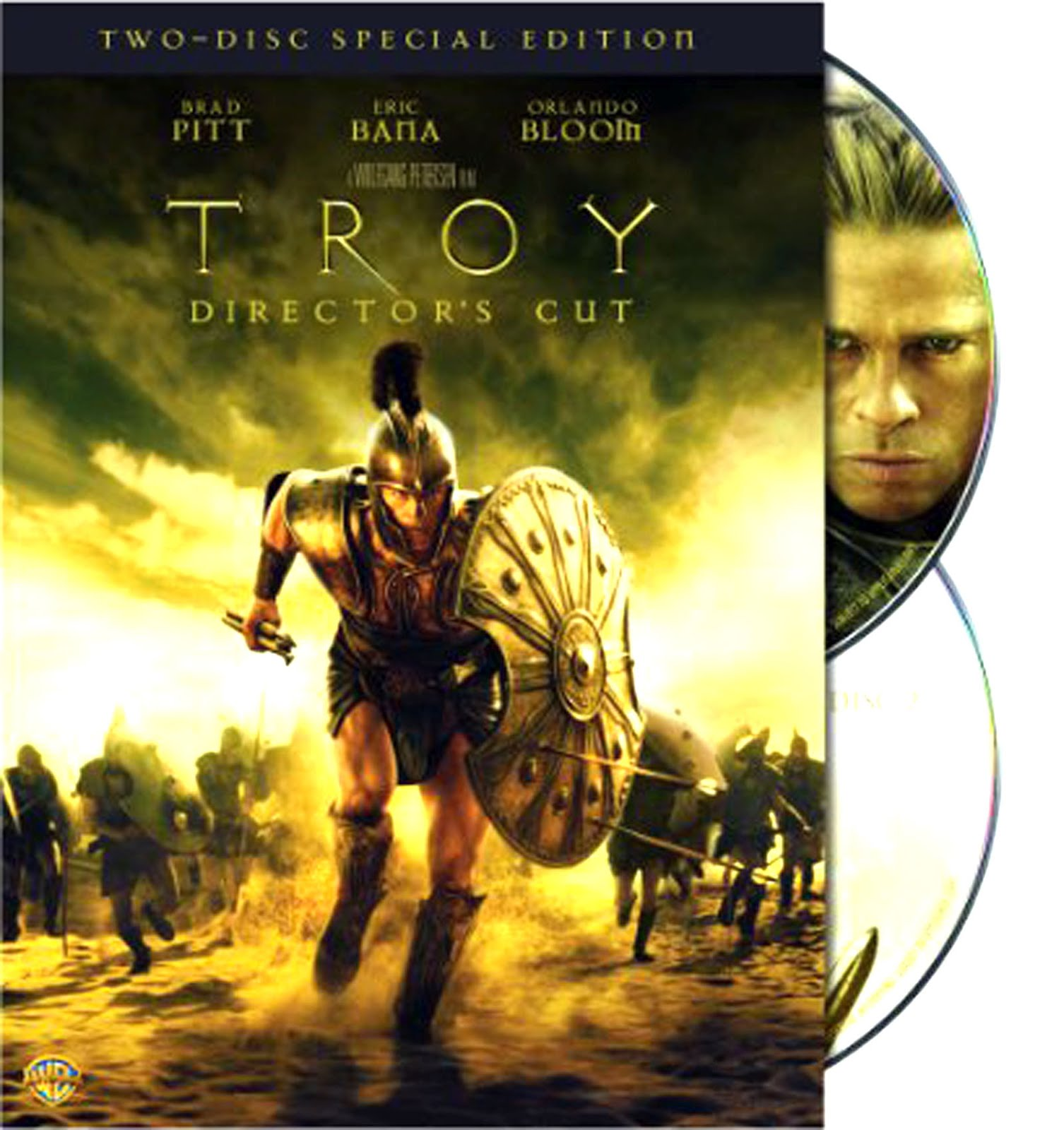 Troy Dvd Case Box