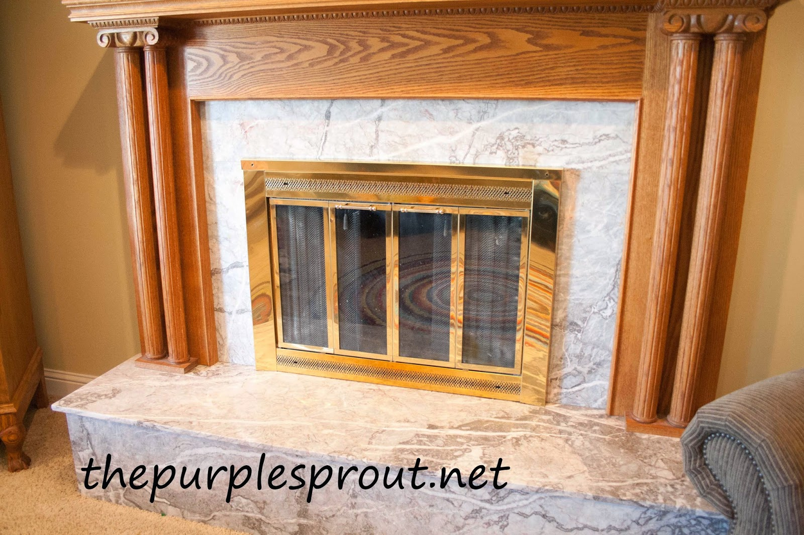 Wonderful Thepurplesproutnet . Cover Up Fireplace ...