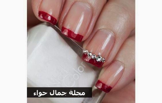 أفكار ونصائح: موضة طلاء الأظافر الأحمر لعروس العام