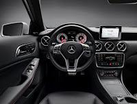 All-New 2013 Mercedes A-Class Interior Cockpit