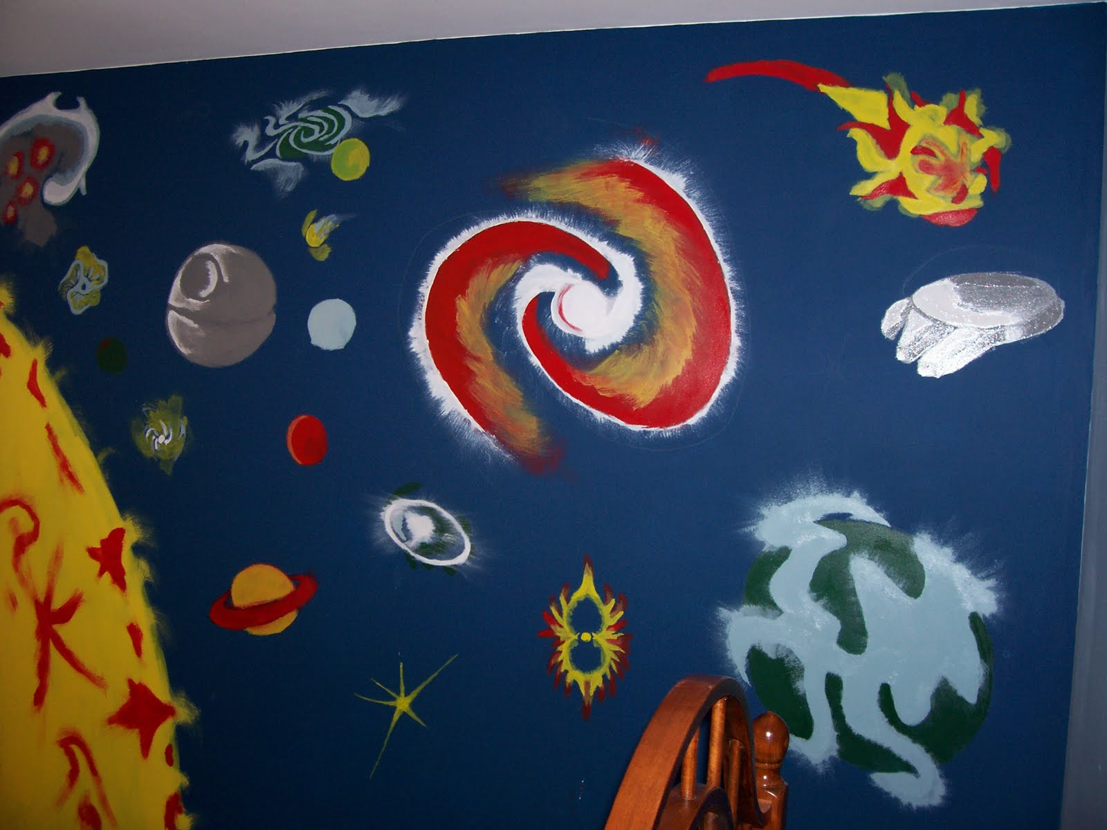 trippy odd and more wall mural work