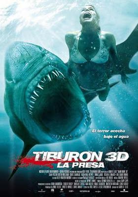 Sorteo - Tiburón 3D. La Presa
