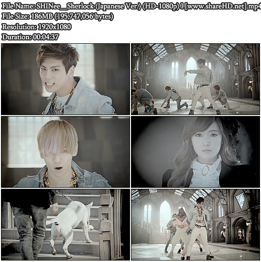 PV SHINee - Sherlock (Japanese Version) (Full HD 1080p)