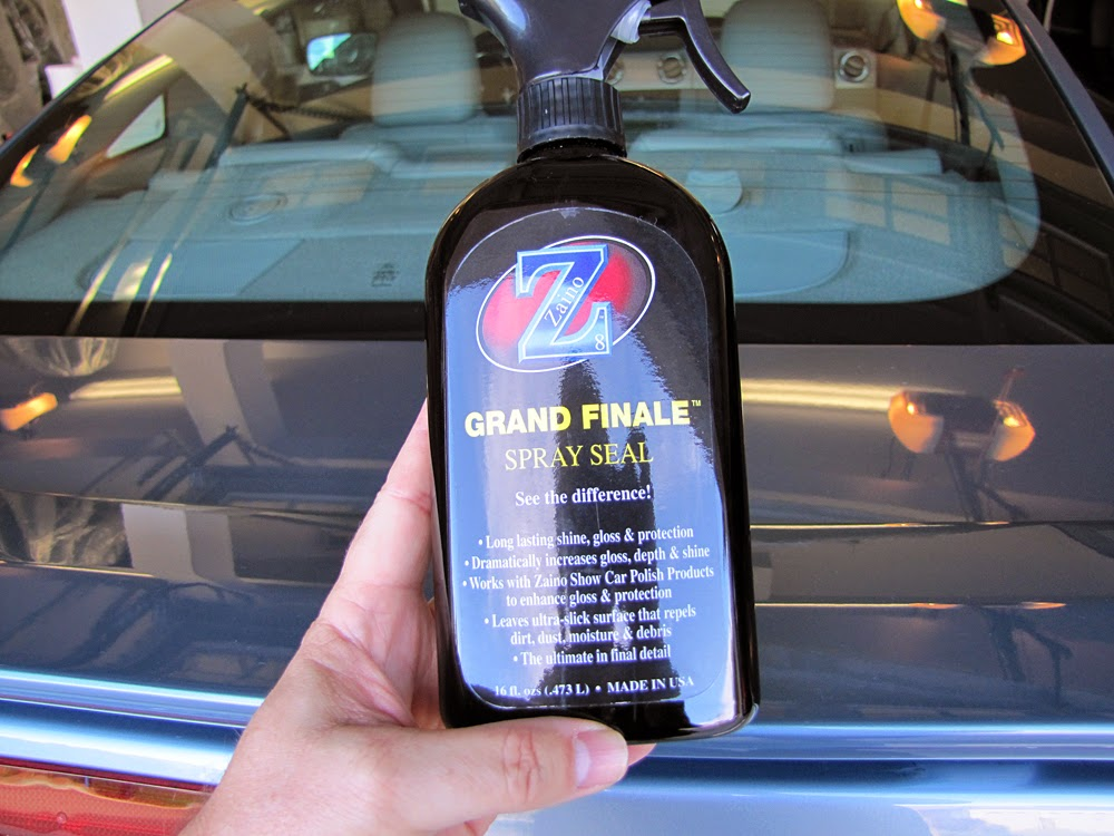 The Bell Curve Of Life Polishing Your Car - Show car ultra shine detail spray