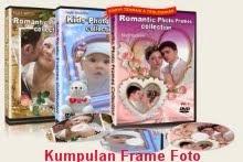 Paket DVD Kumpulan Frame Foto