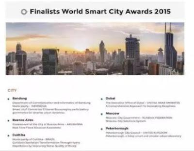 Bandung terpilih sebagai finalis World Smart City 2015....!!!