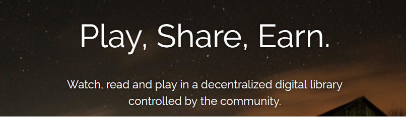 JOIN FREE and EARN in Decentralized Digital Library