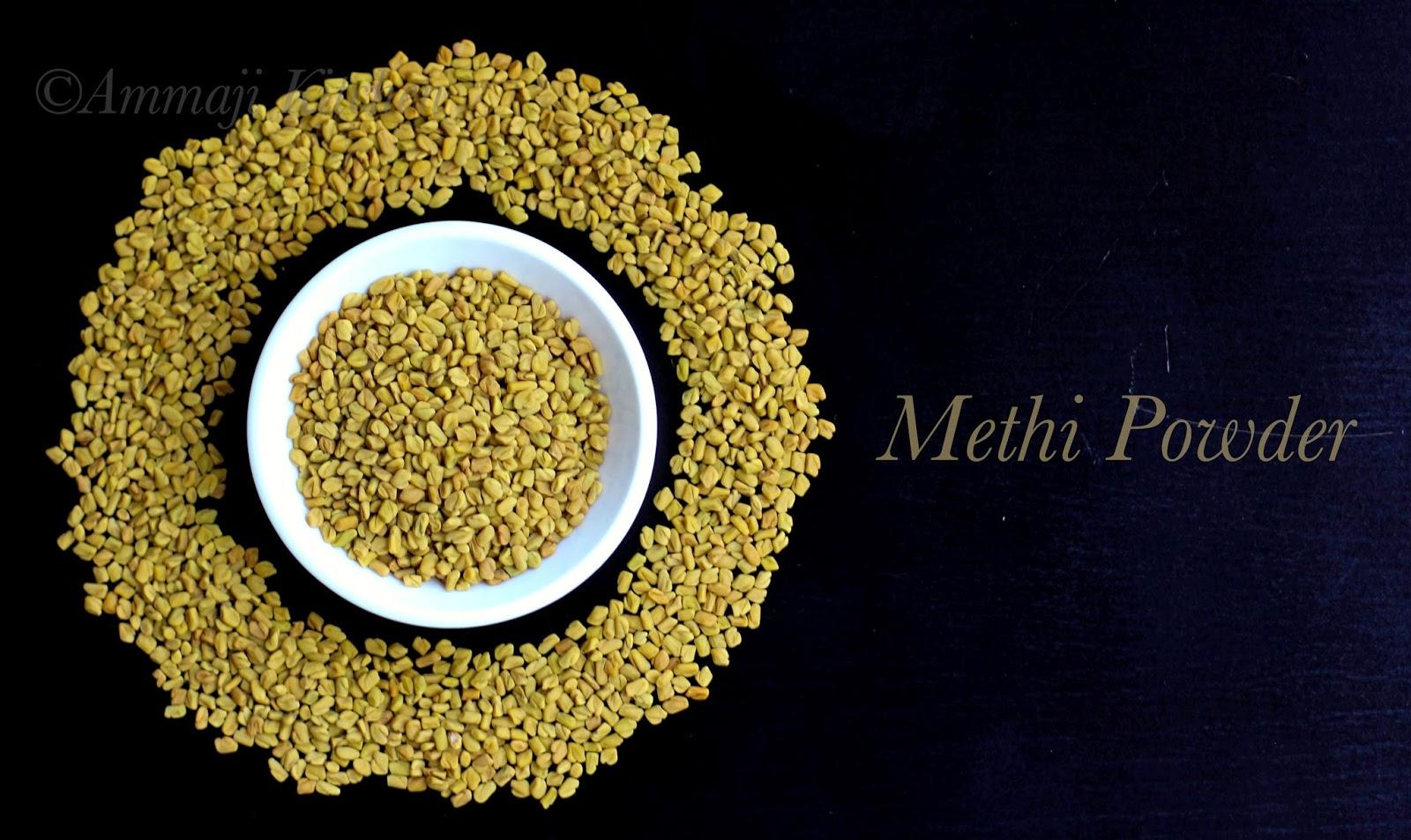 Methi Powder   Menthi Podi