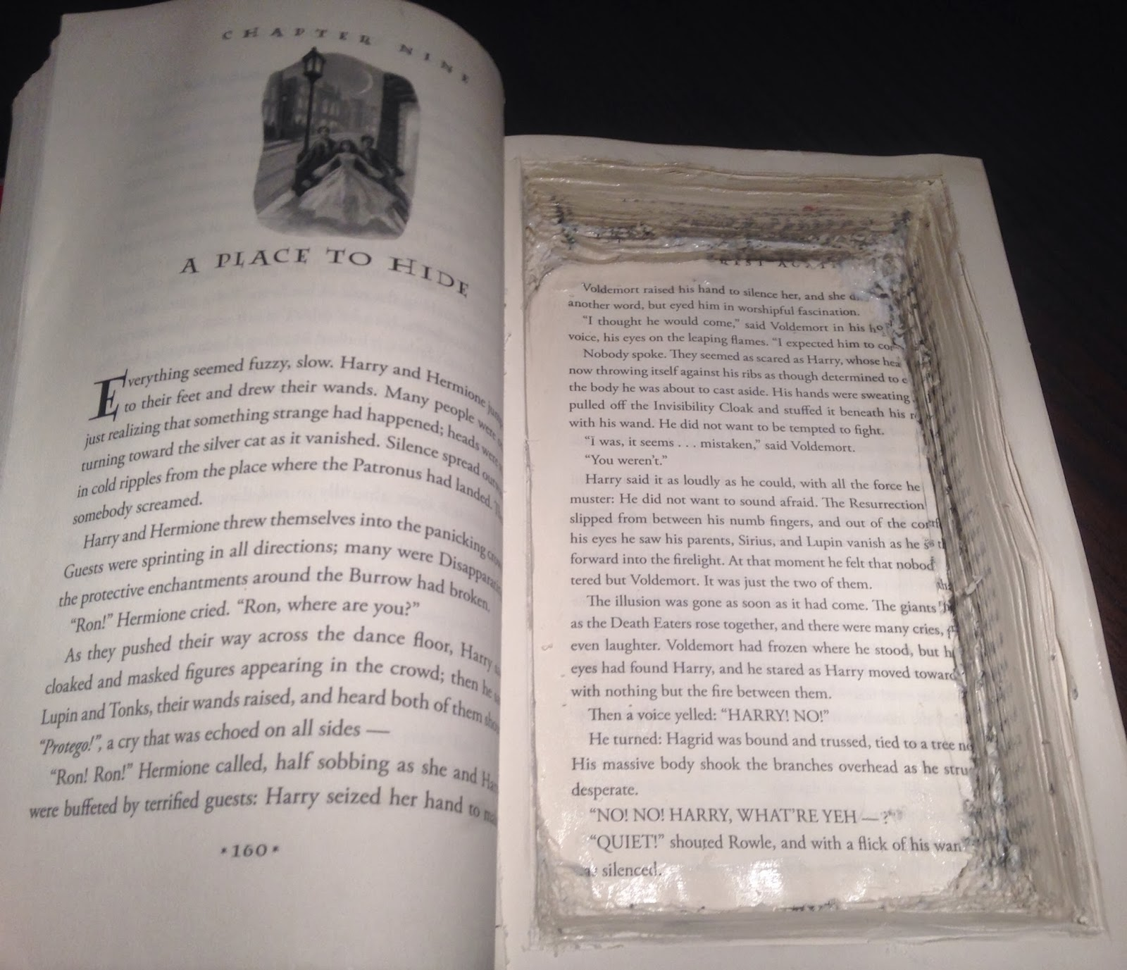 how to make a hollow book clutch
