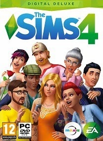 The Sims 4 Deluxe Edition PC Cover The Sims 4 Deluxe Edition [PC/MulTi17] + Update1 RePack