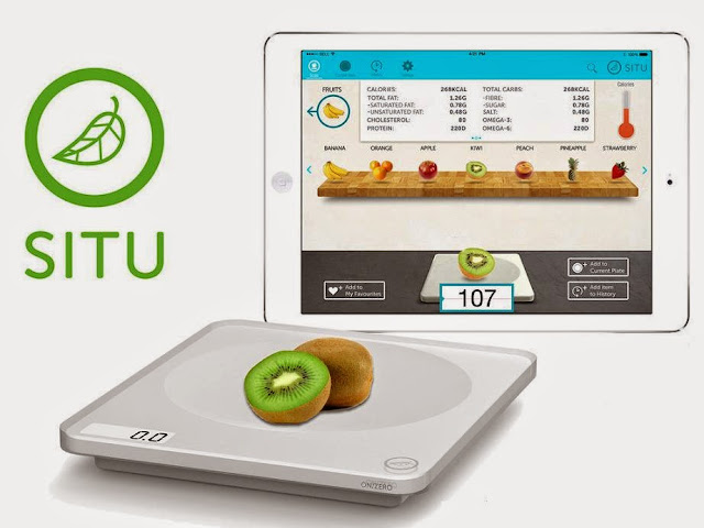 Must Have Kitchen Scales - SITU Smart Food Nutrition Scale