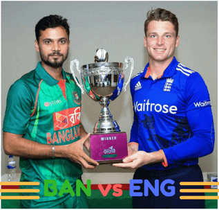 Watch Bangladesh vs Englan Live Cricket Streaming - Click the image