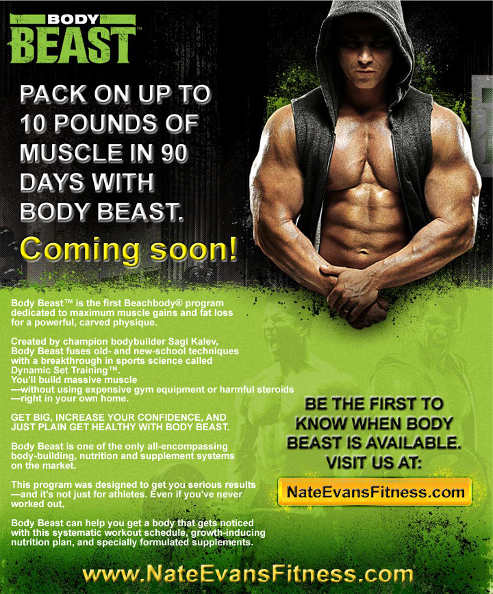 Body Beast Muscle gains