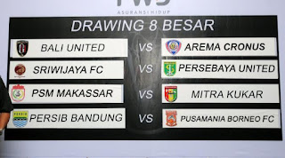Jadwal 8 Besar Piala Presiden 2015