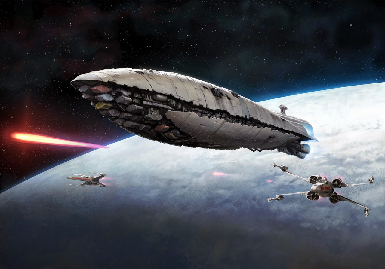 The back 40k x wing rebel transport battle report for Home one