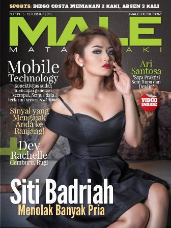 Download Gratis Majalah MALE Mata Lelaki Edisi 119 Cover Model Siti Badriah MALE Mata Lelaki 119 Indonesia | Cover MALE 119 Siti Badriah - Tidak Pernah Berani Sendiri | www.insight-zone.com