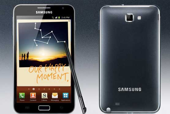 samsung galaxy note uses phone or tablet cpu?