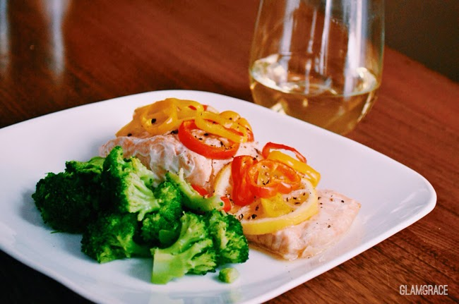 tender fresh salmon recipe