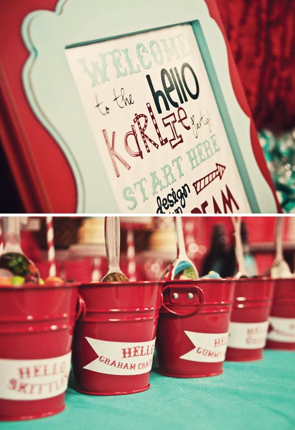 Estilo Vintage Decoracion Para Fiestas ~ Fiesta Tem?tica de Hello Kitty al estilo Vintage  Decoracion Fiestas