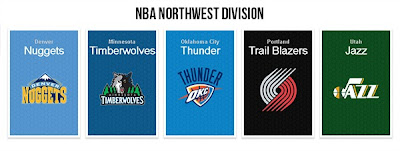 NBA 2K13 Northwest Division Court Pack Mod