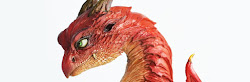 ドラゴン胸像