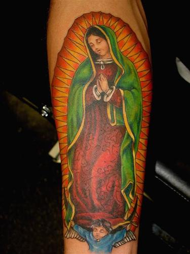 A fatal attraction to cuteness la virgen de guadalupe for Virgen de guadalupe tattoo