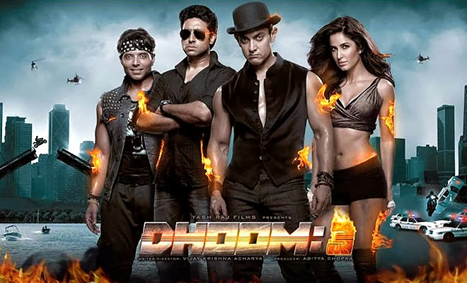 Latest dhoom 3 box office collection Verdict (Hit or Flop) wiki, Box office report of dhoom 3 New Records, Overseas day and week end.