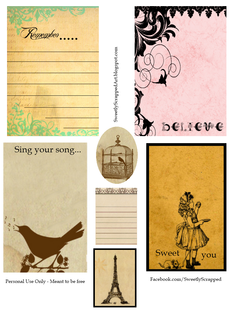 Canny image intended for printable journaling cards
