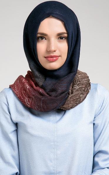 Contoh Model Jilbab Modern 2015