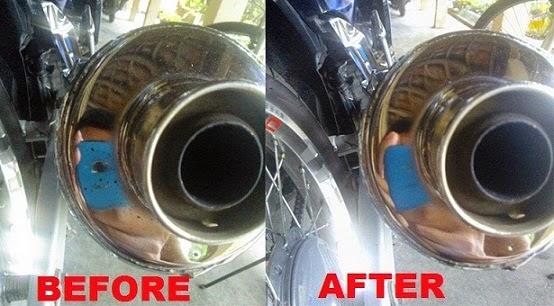 Cara Menghilangkan Noda Aspal atau Kerak Tanah di Komponen Motor dan Mobil