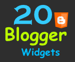 20 Best social Media Subscription widgets For Blogger/