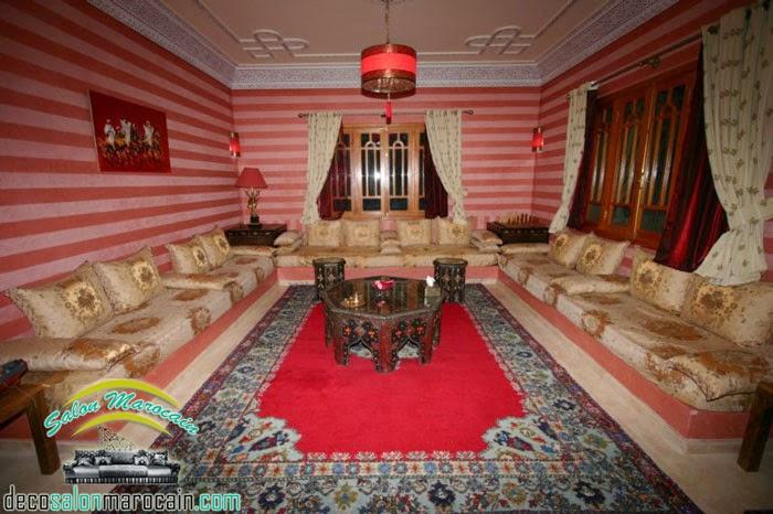 salon marocain grande surface