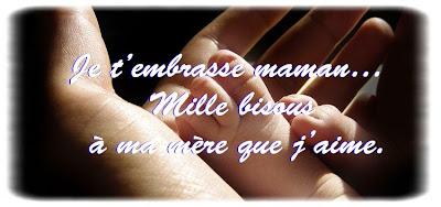Des mots d'amour pour maman