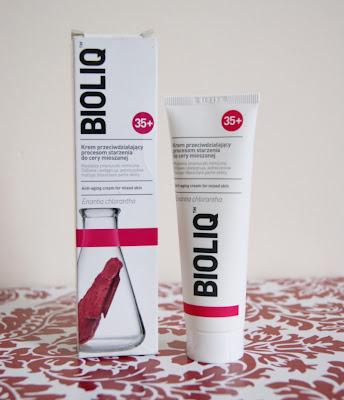 BIOLIQ 35+ Krem przeciwdziałający procesom starzenia do cery mieszanej