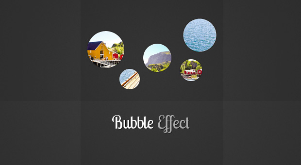 New jQuery Slideshow With Bubble Effect Transitions
