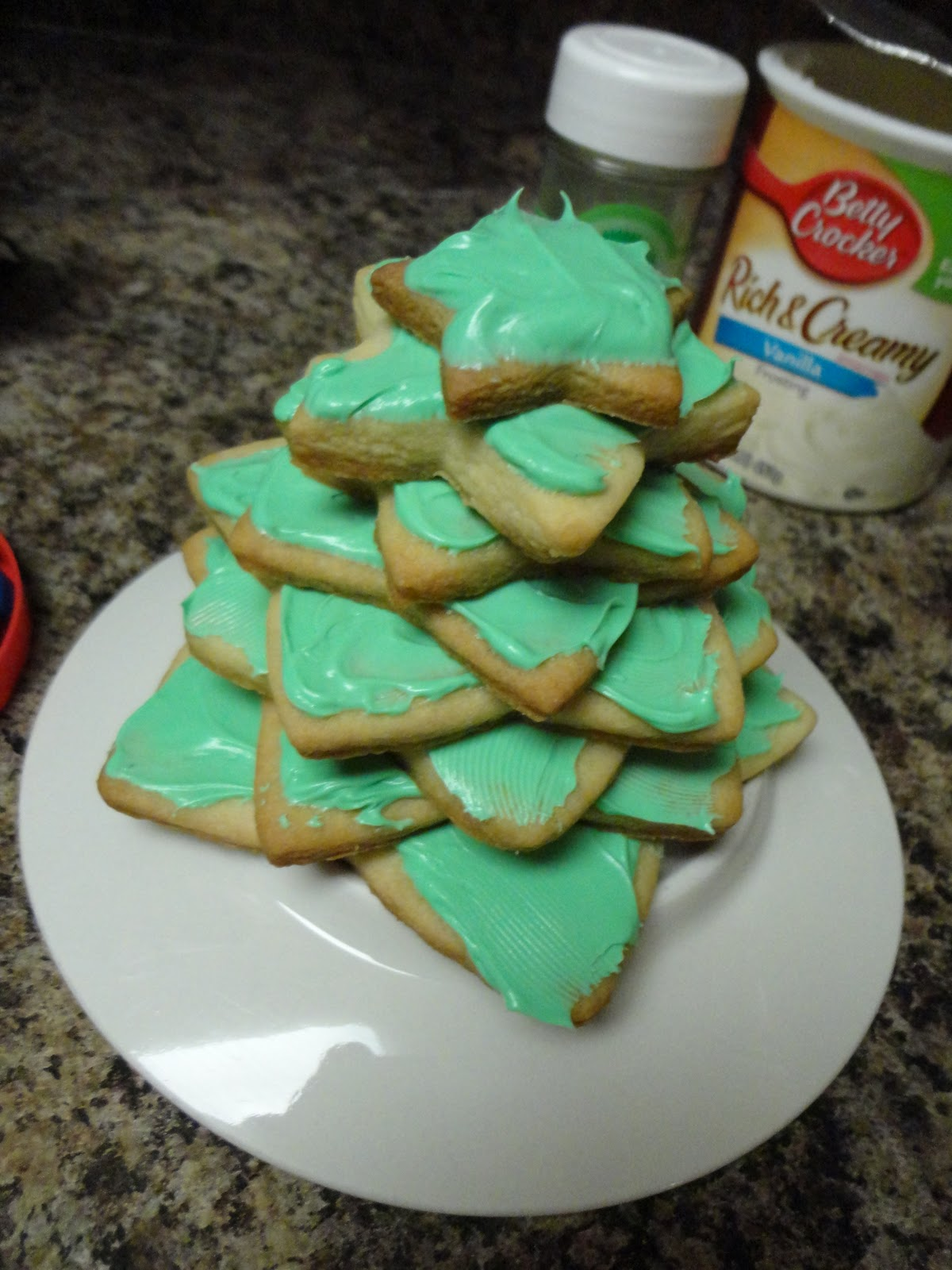 Spark and All: Sugar Cookie Christmas Tree!
